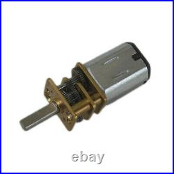 12GA Micro Gear Box Motor DC 3/6/12V 30RPM-1000RPM Reducer Reversible Motors