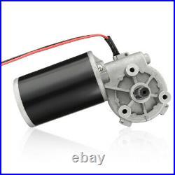 12V/24V/110V/220V Gear Box Speed Torque Reversible Gearmotor Adapter 6RPM-400RPM