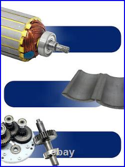 12V 24V 90W Gearmotors 10 600 RPM High Torque Reduction Gear Box Motor 5D90GN