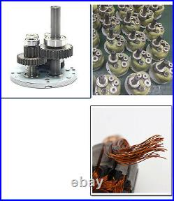 12V 24V Gearmotors 10 600 RPM High Torque Reduction Gear Box Motor 2D15GN-24