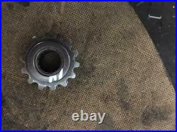 1990 Yamaha 400 Enticer Reverse gear box 14 tooth drive chain sprocket