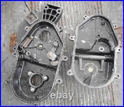1992 Arctic Cat 700 Wild Cat sled, reverse gear box casings