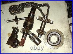 1995/96 Yamaha 410 Enticer II reverse gear box setup parts