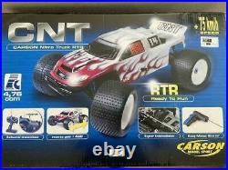 1/7 NEW IN BOX Carson CNT Nitro Truck/TRUGGY RARE ITEM, WITH REVERSE GEAR 24002