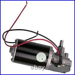 24V DC Electric Gearmotor Speed Torque Reversible Adapter Gear Box Motor Ø63mm