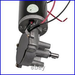 24V DC Electric Gearmotor Speed Torque Reversible Adapter Gear Box Motor new
