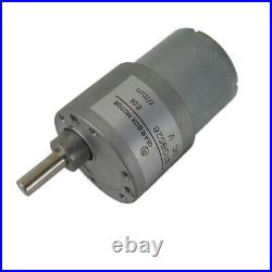 37GB528 Gear Box Reducer Motor DC 12V/24V 5.5-400RPM Brushed Reversible Motors