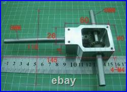 90 Degree Reversing Angle For Spiral Bevel Gear Box Small Reduction Ratio 11