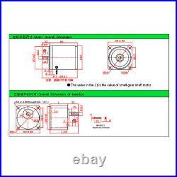 AC 220V Gearmotors 10 500 RPM High Torque Reduction Gear Box Motor 4IK25GN-C