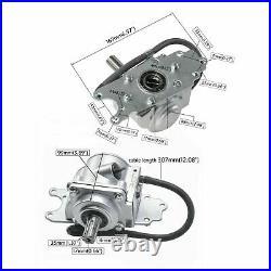 ATV Reverse Rear Axle Gear Box Assy Drive By Shaft Reverse Gear 150cc-250cc Kart