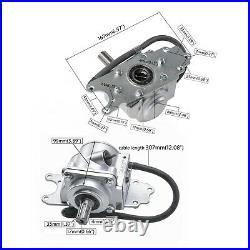 ATV Reverse Rear Axle Gear Box Drive Shaft Gear Transfer For 150cc-250cc Engine