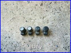 BMW 5er F10 F11 4x Sensoren Einparkhilfe PDC schwarz 9231281