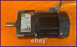 BRAND NEW, no box, BODINE GEAR MOTOR / 42R3BFCI-E4 1801 RATIO 3/4 SHAFT