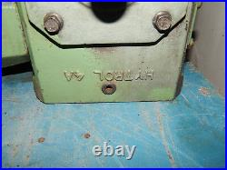 Baldor VM3542.75hp Motor 1725RPM 208-230/460Volt 56C Frame & Hytrol 4A Gear Box