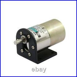 DC12V/24V Gear Box Motor 37GB520 10W 5-600RPM Micro Reduction Motor Reversible