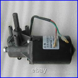 DC12V 40RPM GW7085 Worm Gear Box Motor Reducer Motor High Torque CWithCCW Right
