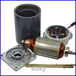 DC 12V/24V 120W Micro Gearmotor Metal Gear Box Motor Silent 10RPM 600RPM 5D120