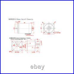 DC 12V 24V Gearmotors 10 600 RPM High Torque Reduction Gear Box Motor 2D20GN-C
