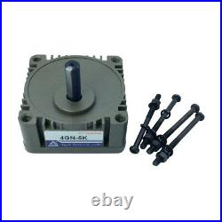 Gear Head Box 2GN/3GN/4GN/5GN with Out Shaft Reducer for AC Induction Motor