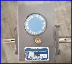 Gear box reducer, Boston Gear 700 series, 251, 0.52 HP input
