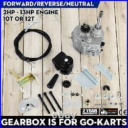 Go Kart Forward Reverse Gear box Fits 2HP-13HP Engine Transmission Local Ship