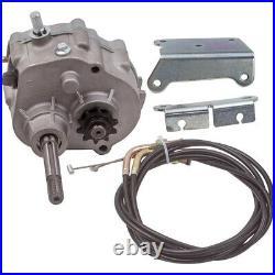 Go Kart Forward Reverse Gear box For 2HP-13HP Engine 4 Stroke Transmission