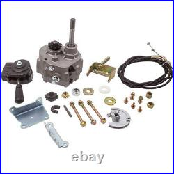 Go Kart Forward Reverse Gear box with Shifter Assembly For 2HP-13HP 10T or 12T