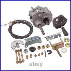 MSR Go Kart Forward Reverse Gear box Fit For 2HP-11HP Engine Transmission