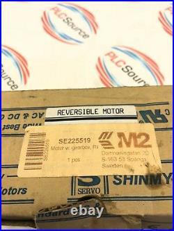 NEW IN BOX SHIN MYUNG 8RN25G4H REVERSIBLE SERVO MOTOR With 8G50Y GEAR HEAD