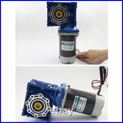 NMRV40 Worm Gear Speed Reducer Gear Box Motors DC 12V/24V 90W Gearmotors XD5D90