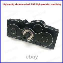 RC Boat Casing Box Forward Reverse Gear Yacht Dual Output Bearing Pinion Gearbox