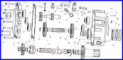 Reverse Gear Box shift fork for 250cc Go Kart kinroad runmaster dazon baja NST