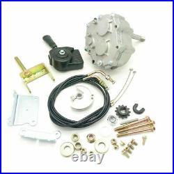 UNIVERSALE GO KART Forward Reverse Gear Box For 3/4 tav2 30 40 41 12t 10t #35