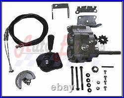 Universal Go Kart Forward Reverse Gear Box For 3/4 TAV2 30 40 41 12T 10T #35