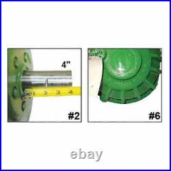 Used Feeder House Reverser Gear Box Assembly Compatible with John Deere 9550 SH