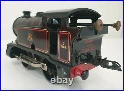Vintage Hornby Meccano Train O Gauge No40 Reversing Locomotive Boxed + Key 41021